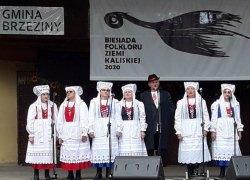 I miejsce Zespołu Śpiewaczego Koźminiacy na Estradzie Folkloru w Brzezinach